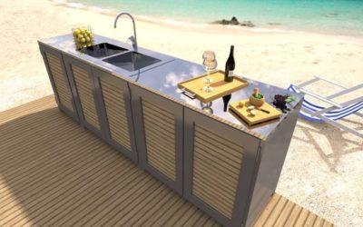 Kakovost, uporabnost in odprtost: letne kuhinje AluPetrič