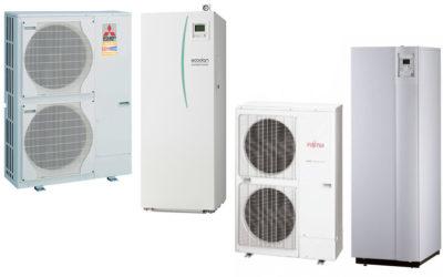 Toplotne črpalke – za boljši izkoristek toplote, boljše ogrevanje in hlajenje prostorov