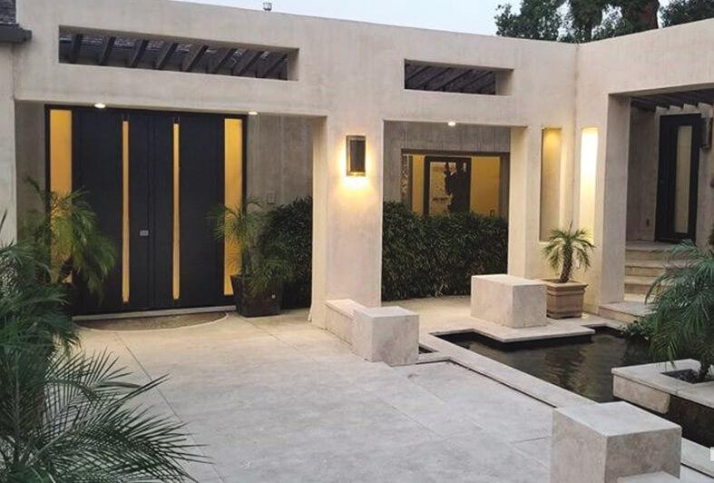 Vhodna vrata PIRNAR, dom v Los Angelesu, Združene države Amerike